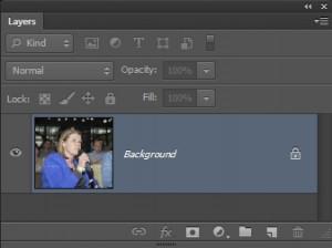 achtergrondlaag in Photoshop_achtergrond